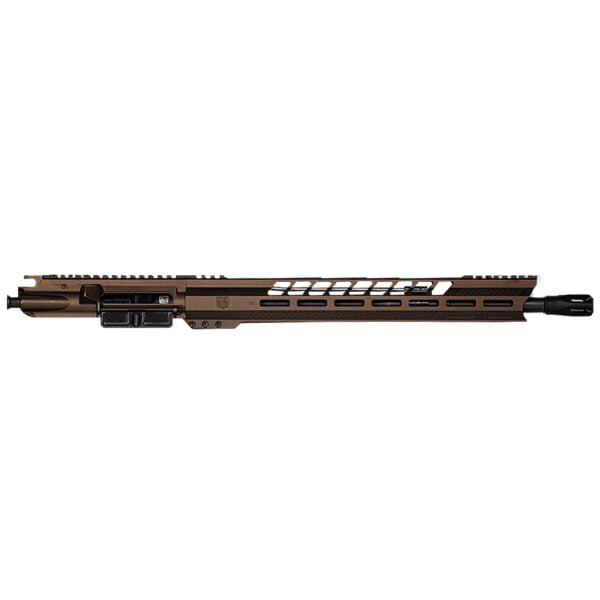 "DB15 300BO 16"" BLACK GOLD SERIES UPPER RECEIVER W/ 15"" M-LOK V RAIL W/ ANTI SLIP TEXTURE PADS"