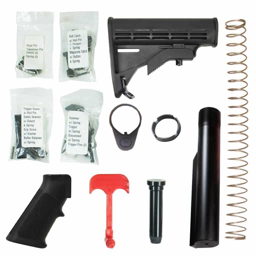 DB15 Standard Rifle Lower Build Kit