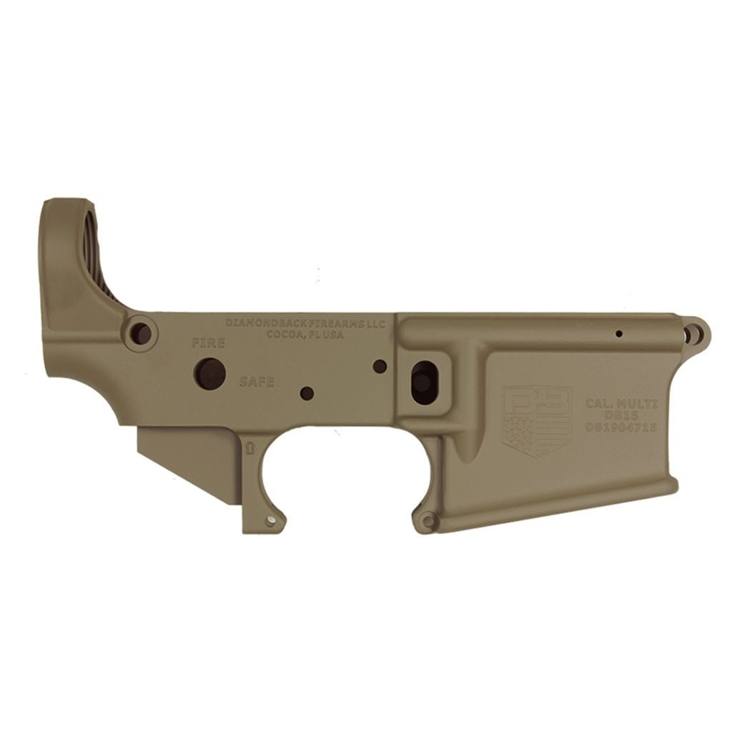 DB15 223/556/300BO STRIPPED CARBON SERIES RIFLE LOWER