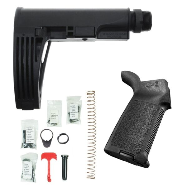 DB15 TAILHOOK BRACE PISTOL LOWER BUILD KIT