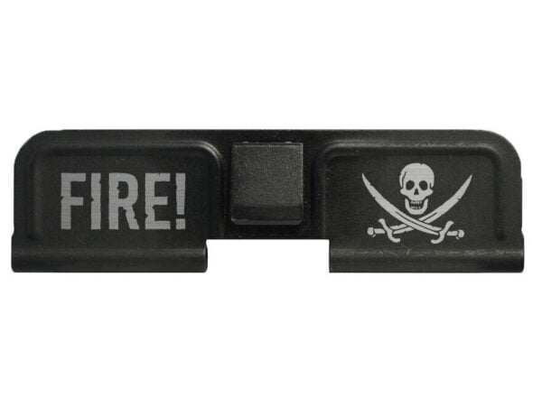 DB10 Limited Edition Lasered CALICO JACK PIRATE Logo Ejection Port Cover Assembly