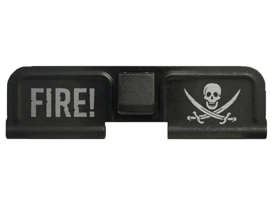 DB15 Limited Edition Lasered CALICO JACK PIRATE Ejection Port Cover Assembly