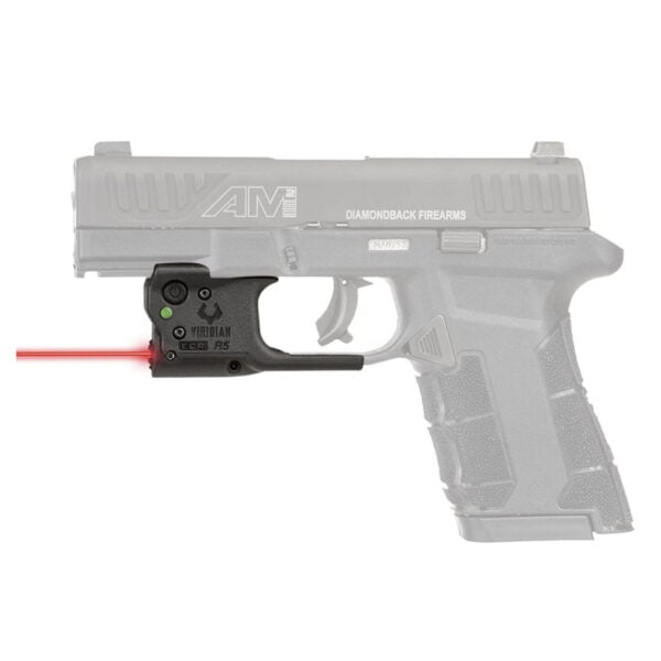 VIRIDIAN REACTOR R5 GEN 2 GREEN LASER SIGHTING SYSTEM FOR THE DB AM2 9MM WITH INSTANT ON HOLSTER