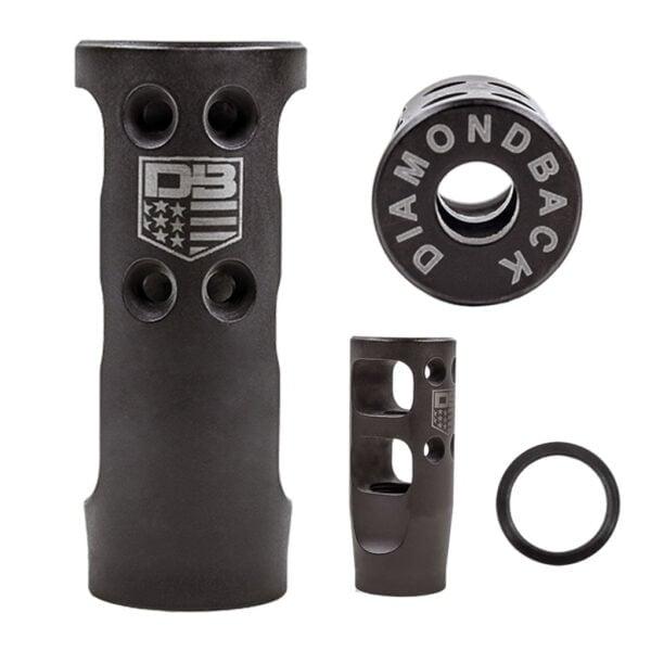 DB15 .223/5.56 DB Muzzle Brake w/ Crush Washer