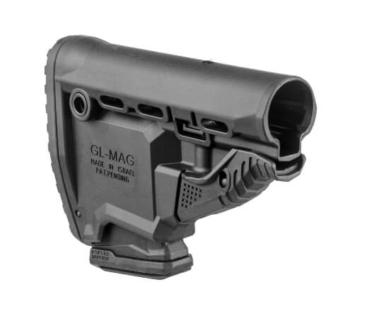 FAB DEFENSE SURVIVAL STOCK WITH BUILT IN 10 RD MAGAZINE